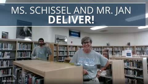 Broomfield High Library Curbside Delivery 1
